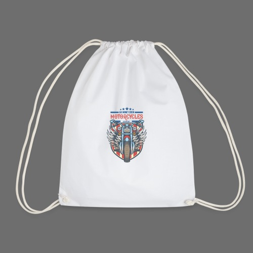JAX MONEY CREW Motorcycle - Drawstring Bag