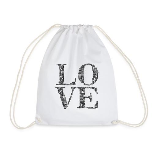 Love, love you, fall, I love you, wedding - Drawstring Bag