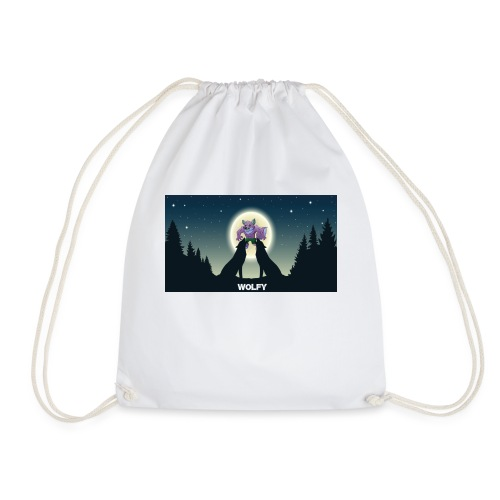 Wolfy - Drawstring Bag