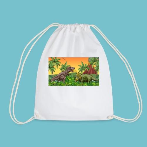 Cretaceous Showdown - Drawstring Bag