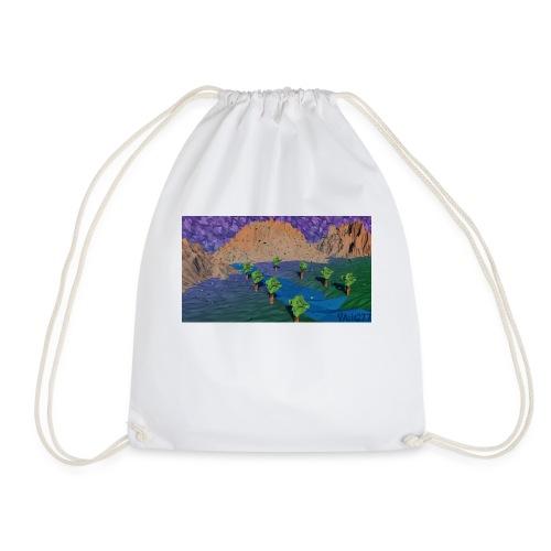 Silent river - Drawstring Bag