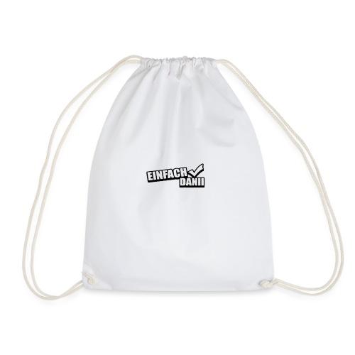 einfach layout - Drawstring Bag