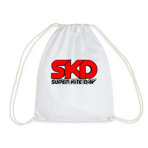 Super Kite Day Offical T-shirt - Drawstring Bag