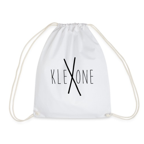 kleXone Mütze weiß - Turnbeutel