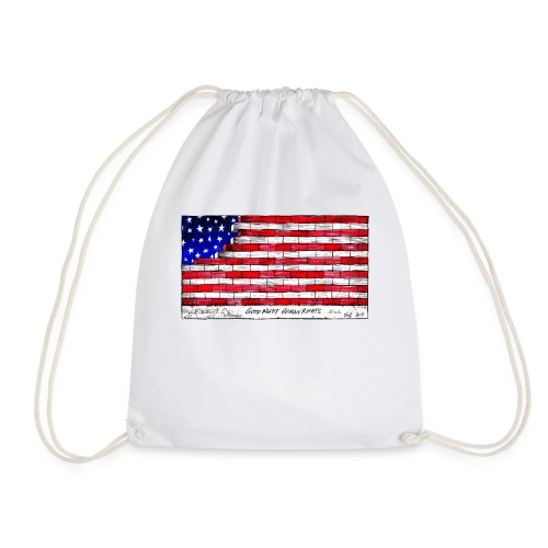 Good Night Human Rights - Drawstring Bag