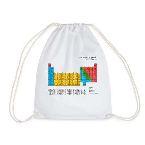 Periodic Table of elements - Drawstring Bag
