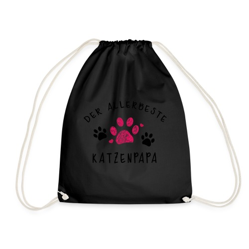 Der allerbeste Katzenpapa - Turnbeutel