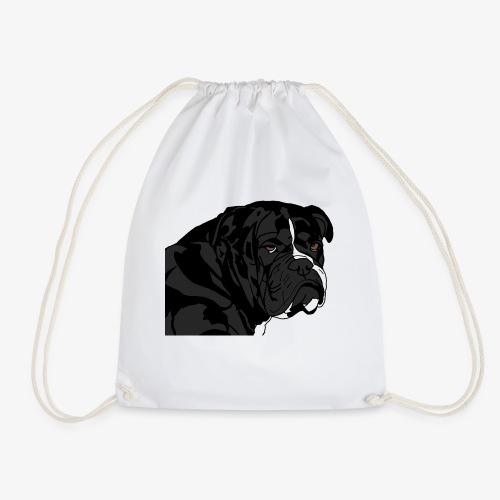 bulldog noir - Sac de sport léger