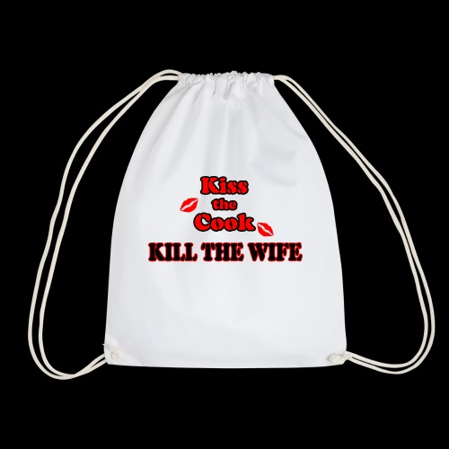 Kiss the Cook, kill the Wife - Turnbeutel