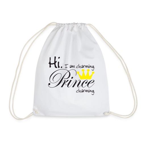 Hi I am charming. Prince Charming - Turnbeutel