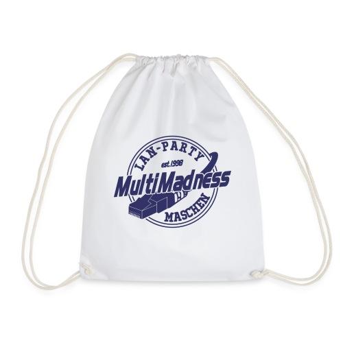 MMM Logo - modern weiß - Turnbeutel