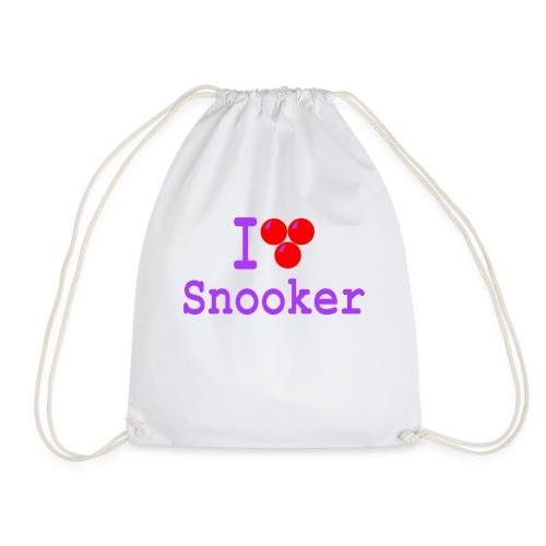 ilovesnooker - Drawstring Bag