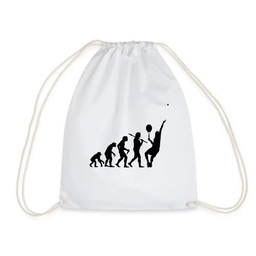 Tennis Evolution - Drawstring Bag