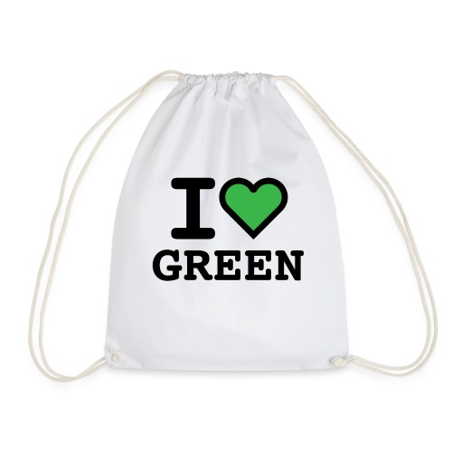 i-love-green-2.png - Sacca sportiva
