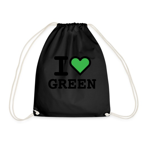 i-love-green-2.png - Sacca sportiva