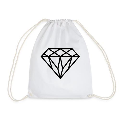 Diamond Graphic // Diamant Grafik - Turnbeutel
