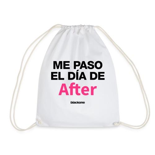Camiseta Dia de After - Mochila saco
