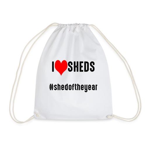 #shedoftheyear - Drawstring Bag