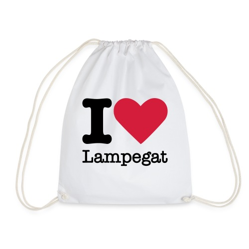 I Love Lampegat - Gymtas
