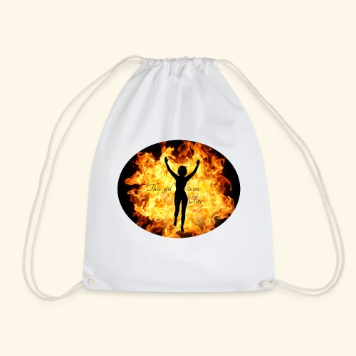 Girl on fire - Gymbag