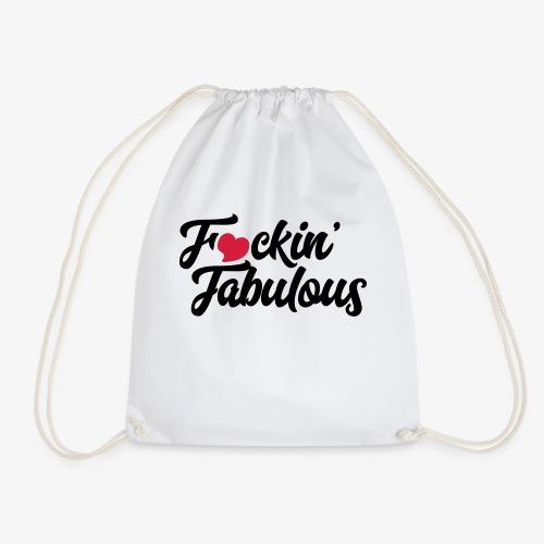 Fucking Fabulous - Drawstring Bag