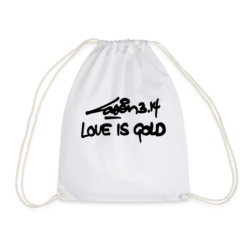 loveisgold kids shirt - Drawstring Bag