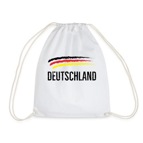 Deutschland, Flag of Germany - Drawstring Bag