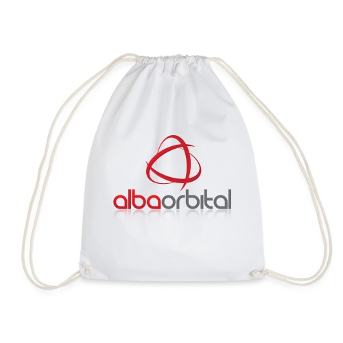Alba Orbital's Offical Logo - Drawstring Bag