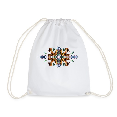 Colourful Fire - Drawstring Bag