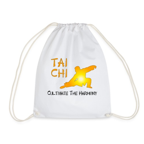 Tai Chi - Cultivate The Harmony - Drawstring Bag