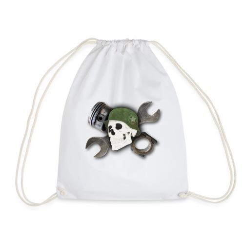 Peratec Customs Skull - Turnbeutel