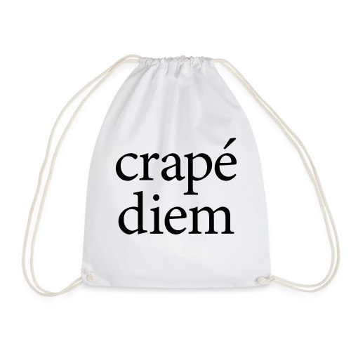 Crapé diem - Drawstring Bag