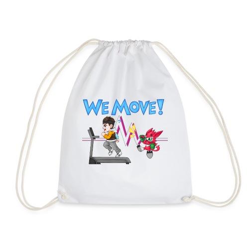 WE MOVE! - Drawstring Bag