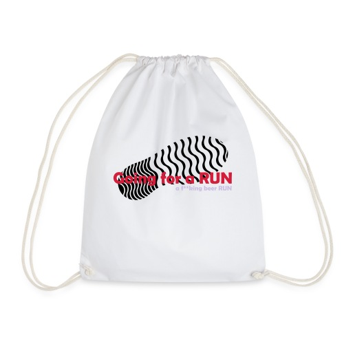 Going for a run - Drawstring Bag