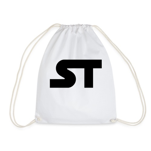 ST SIMPLE BLACK png - Turnbeutel