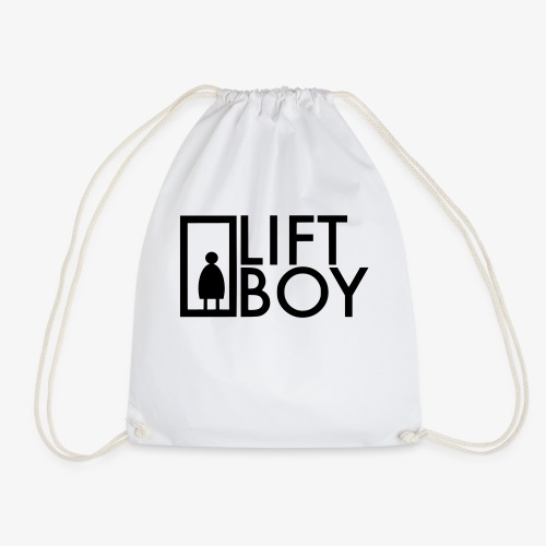 Lift Boy logo - Turnbeutel