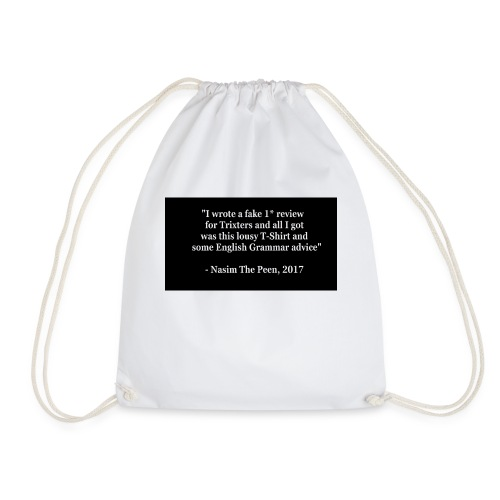 NasimPeen - Drawstring Bag