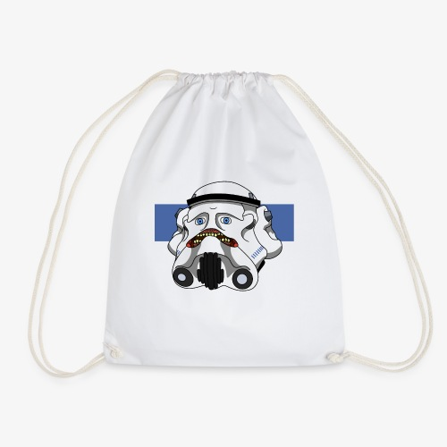 The Look of Concern - Drawstring Bag