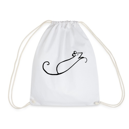 Rata estilizada - Mochila saco