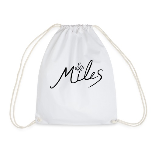 Peat Miles Logo - Turnbeutel