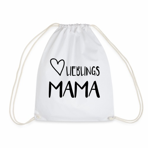 Lieblings MAMA - I heart Mama - Turnbeutel
