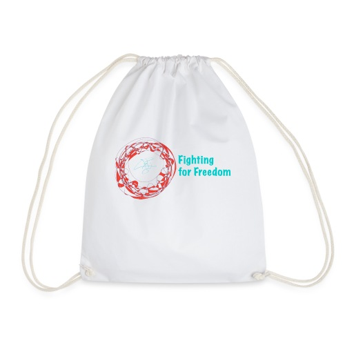 Fighting for Freedom - Drawstring Bag