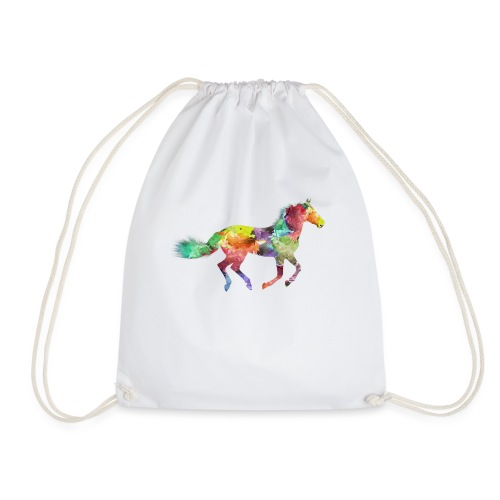 Cheval multicolore - Sac de sport léger