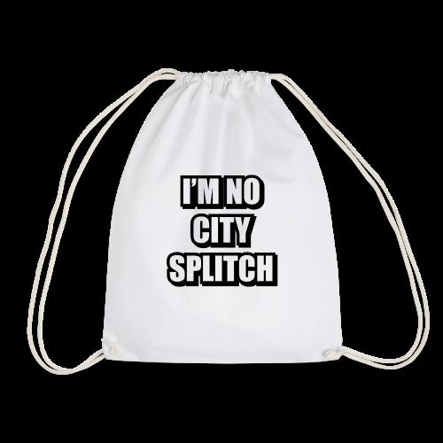 IM NO CITY SPLITCH - Drawstring Bag