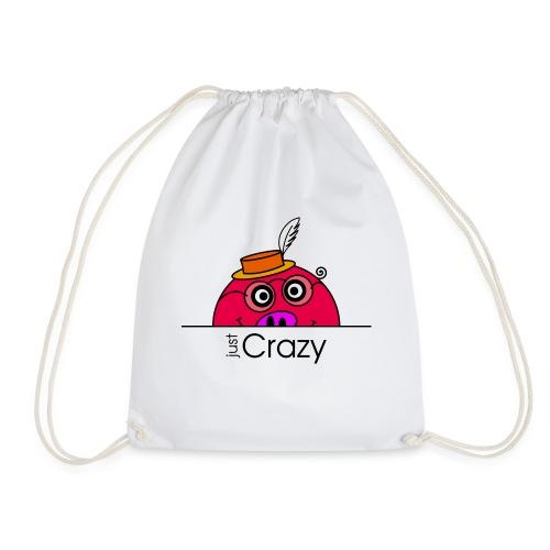 Happy Rosanna - just Crazy - c - Drawstring Bag
