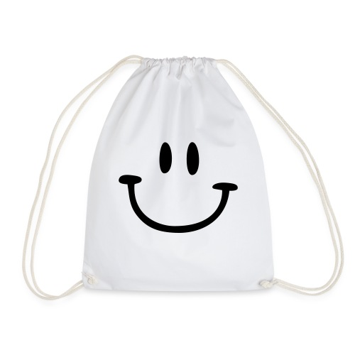 ptb smiley face - Drawstring Bag