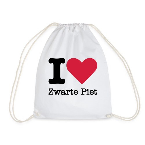 I Love Zwarte Piet - Gymtas