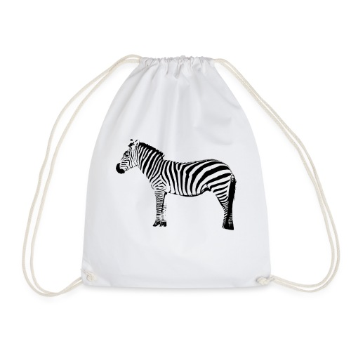 Premium Hoodie Woman | I am a freaking ZEBRA - Drawstring Bag