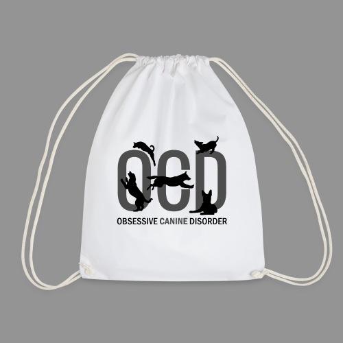 OCD - Obsessive Canine Disorder - Drawstring Bag