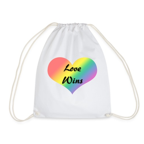 Love Wins - Drawstring Bag